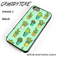 Cactus For Iphone 5 Iphone 5S Case UY