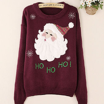 Ugly Christmas Sweaters For Women Winter Cute Cartoon Embroidery Knit Sweaters Patchwork Striped Turtleneck Sweatginger SK026