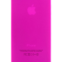 Pink Frosted Transparent Soft Case for iPhone 5 & 5s