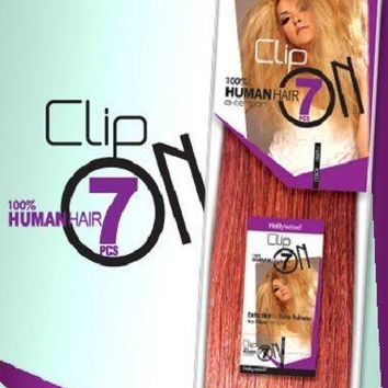 """Hollywood 100% Human Hair 7 pieces Clip On Extension 20"""""""
