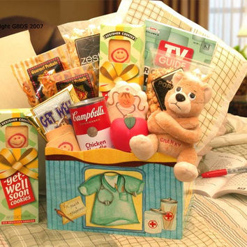 Health & Happiness Get Well Gift Box (Lg)