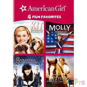 4 KID FAVORITES-AMERICAN GIRL (DVD/4 DISC/KIT/MOLLY/SAMANTHA/FELICITY)