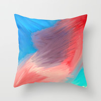Violet  Throw Pillow by Sierra Christy Art