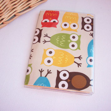Passport Cover / Holder / Case - Urban Zoologie Owls