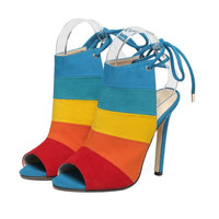 The Woman of Many Colors Shoes, All Sizes