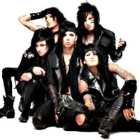 20 WATER SLIDE NAIL ART DECALS BLACK  VEIL BRIDES band WOO HOO