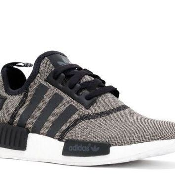 ADIDAS ORIGINALS NMD R1 BLACK CHARCOAL KNIT FOR WOMEN & GIRLS IN ALL SIZES