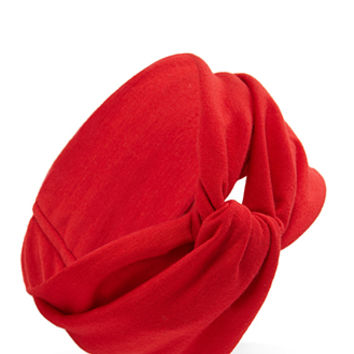 FOREVER 21 Knotted Knit Headwrap