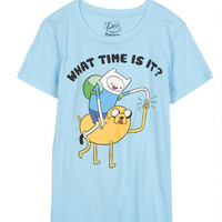 Adventure Time What Time Is It Tee
