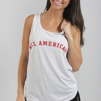 friday + saturday: all american tank