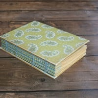 Paisley Hostess Recipe journal - Graduation gift, Mother's Day
