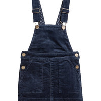 Corduroy Bib Overall Dress - from H&M