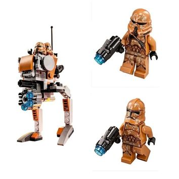 Star Wars Force Episode 1 2 3 4 5 Diy Space Legoingly  Clone Model Geonosis Troopers Figures Building Blocks Toys for Children figures with 75089 AT_72_6