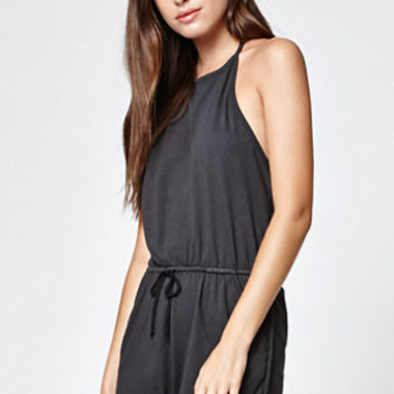 Me To We Heavy Knit Halter Romper at PacSun.com
