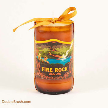 Fire Rock Kona Brewery Bottle Candle US Shipping Included