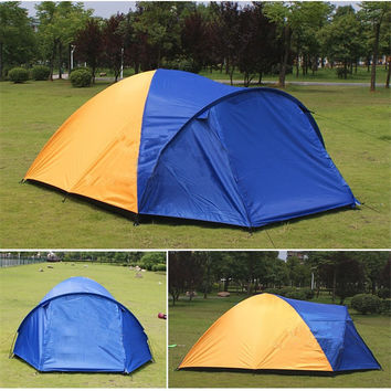 2-4 Person Large 2 Room Tent
