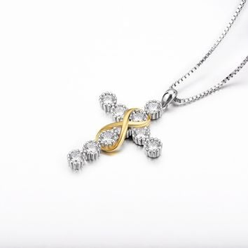 Cross Necklaces Pendants-4 Styles to be Uniquely YOU!