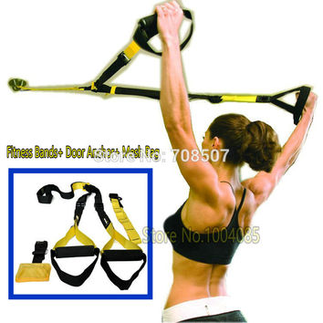 Suspension Straps. Home Fitness Oryginal yellow