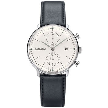 Max Bill 027/4600.00 Chronoscope watch by Junghans