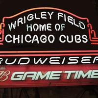 Budweiser Chicago Cubs Neon Sign MLB Teams Neon Light