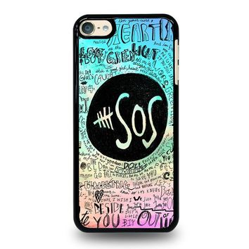 5 SECONDS OF SUMMER 3 5SOS iPod Touch 6 Case Cover