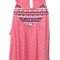 Sahara Summer Embroidered Tank Top