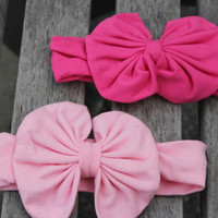 Baby Headband- Baby Girl- Photo Prop- Floppy Headband