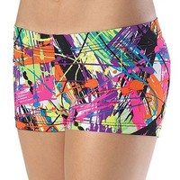 Splash Print Dance Shorts - Balera