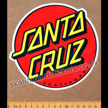 Santa Cruz Official Old School Reissue Skateboard Sticker