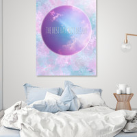 «The best has just begun», Numbered Edition Acrylic Glass Print by eDrawings38 - From $75 - Curioos
