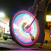 LED Bike Wheel Light Caps (3 Pack)