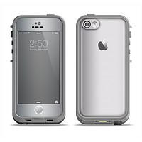The Chrome Reflective Apple iPhone 5c LifeProof Fre Case Skin Set