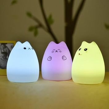 Kawaii Cat Lamp