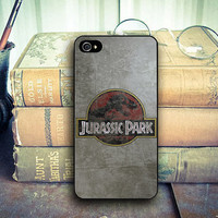 Jurassic Park cover case for iphone case, samsung and ipod case, handmade phone case