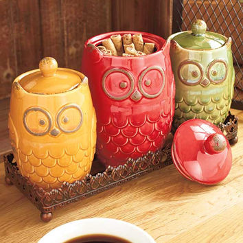 Owl Counter top Collection 1