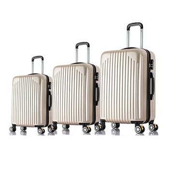 "20"" 24"" 28"" 3PC Carry On Luggage Travel Bag Spinner Suitcase"