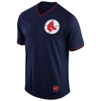 Nike Boston Red Sox Navy Cooperstown V-Neck Jersey 1.5