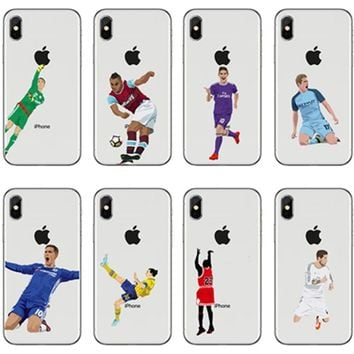 seracase   Barcelona Lionel Messi Bar FOOTBALL Case for iPhone 5 5S se 6 6S 7 7 Plus 8 8plus x black Neymar JR cover