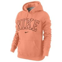 Nike Classic Fleece Arch Pull Over Hoodie - Women's at Foot Locker