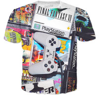PS1 Video Game T-Shirt🎮