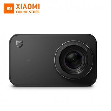 English Version Xiaomi Mijia Mini Sport Action Camera 4K Video Recording WiFi Digital Cameras 145 Wide Anglen App Control