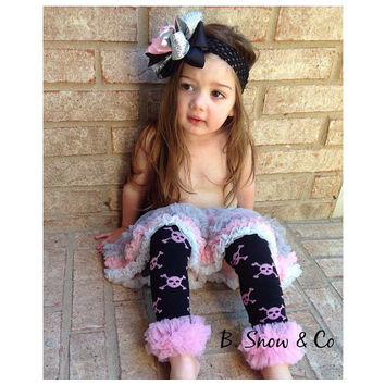 Punk rock princess tutu leg warmers set, Leg Warmers and headband set, Birthday outfit, baby leg warmers, baby girls punk rock outfit