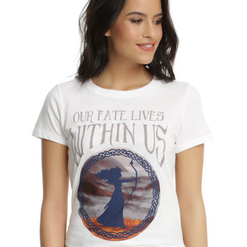 Disney Brave Fate Within Us Girls T-Shirt