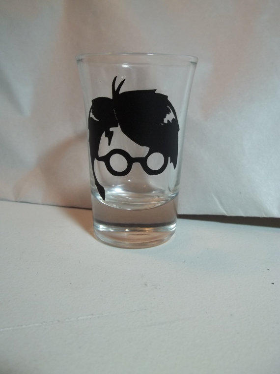 Harry Potter Shot Glass By From The Crafty Geek