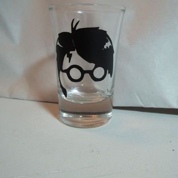 Harry Potter  Shot Glass by TheCraftyGeek86 on Etsy