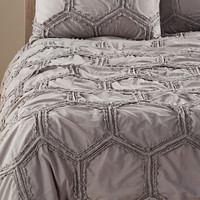 'Tufted Lace - Honeycomb' Duvet Cover