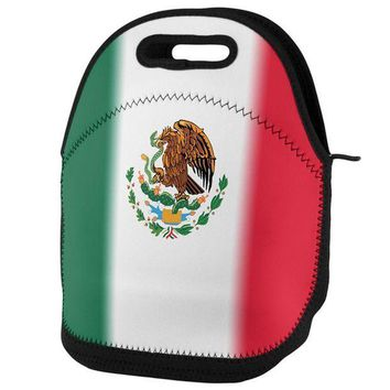 PEAPGQ9 Cinco De Mayo Mexican Flag Lunch Tote Bag
