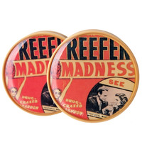Reefer Madness Vintage Movie Poster BMA Plugs (2mm-25mm)