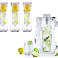 InFuzeH20 Fruit-Infuser Water Bottles and Pitcher