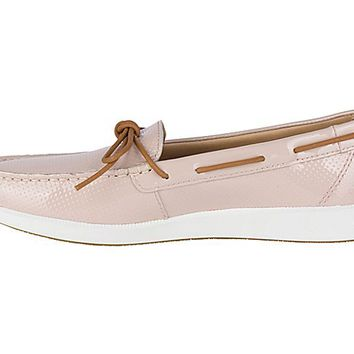 Oasis Canal Patent Boat Shoe
